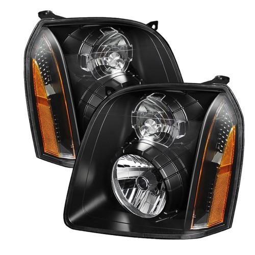 Black 2007 2008 2009 2010 2011 2012 2013 2014 Gmc Yukon Denali Replacement Headlights Headlamps Set Left Right 007 08 0 Yukon Denali Gmc Yukon Gmc Yukon Denali