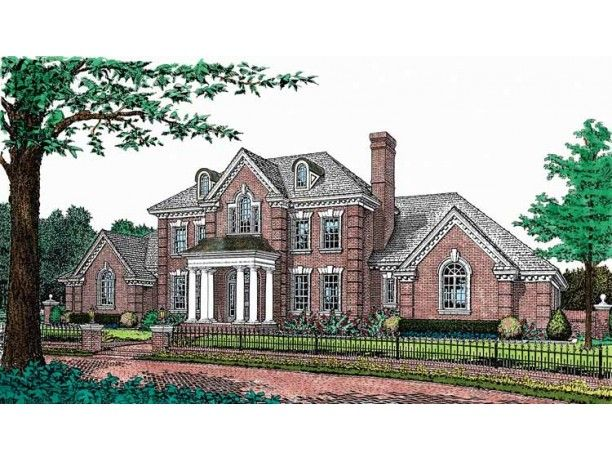 Adam   Federal House Plan with 4045 Square Feet and 5 Bedrooms s     Adam   Federal House Plan with 4045 Square Feet and 5 Bedrooms s  from