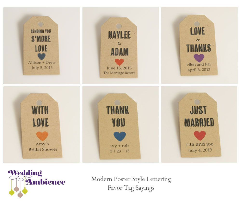 Favor Tag, Wedding Favor, Bridal Shower Thank You, Floral, Bohemian ...