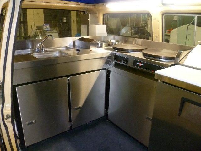 Inside Kombi Food Truck Business Food Truck Equipment Food Stands