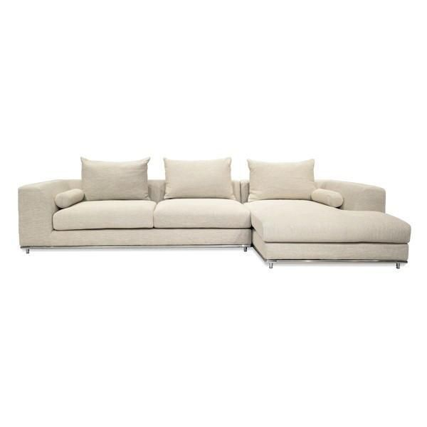Unique Mercer small sectional right For Your House - Inspirational Sectional Fabric sofas New Design