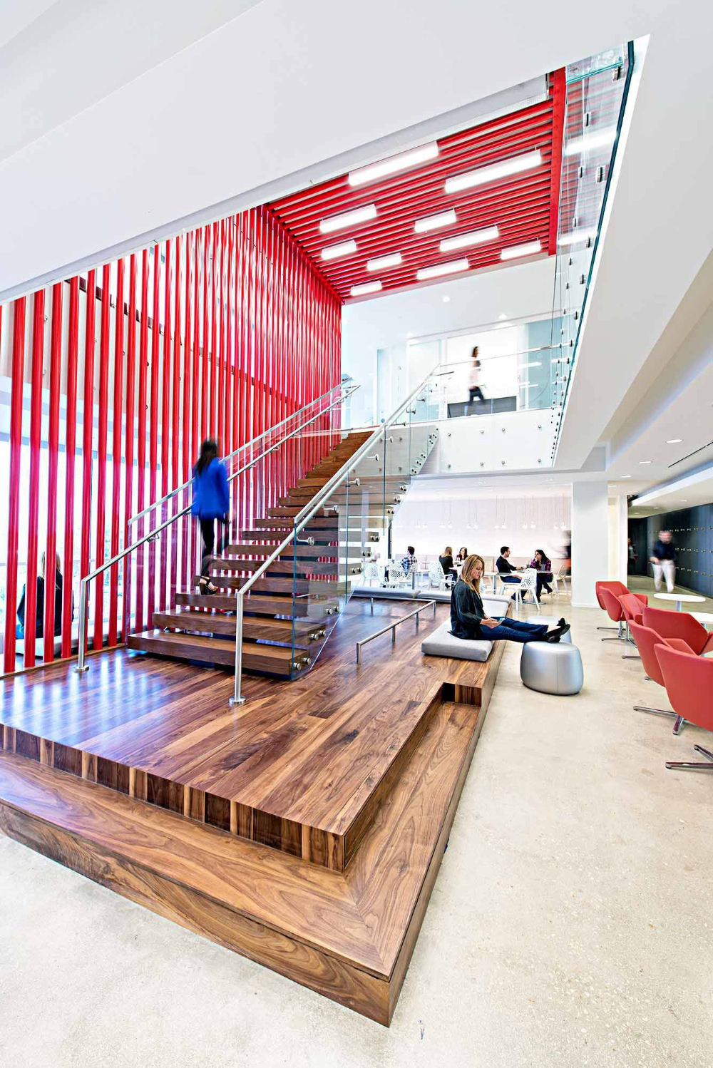 Inside Zimmerman Advertising S Amazing Fort Lauderdale Office Commercial Interior Design Office Commercial Interiors Office Commercial Office Design
