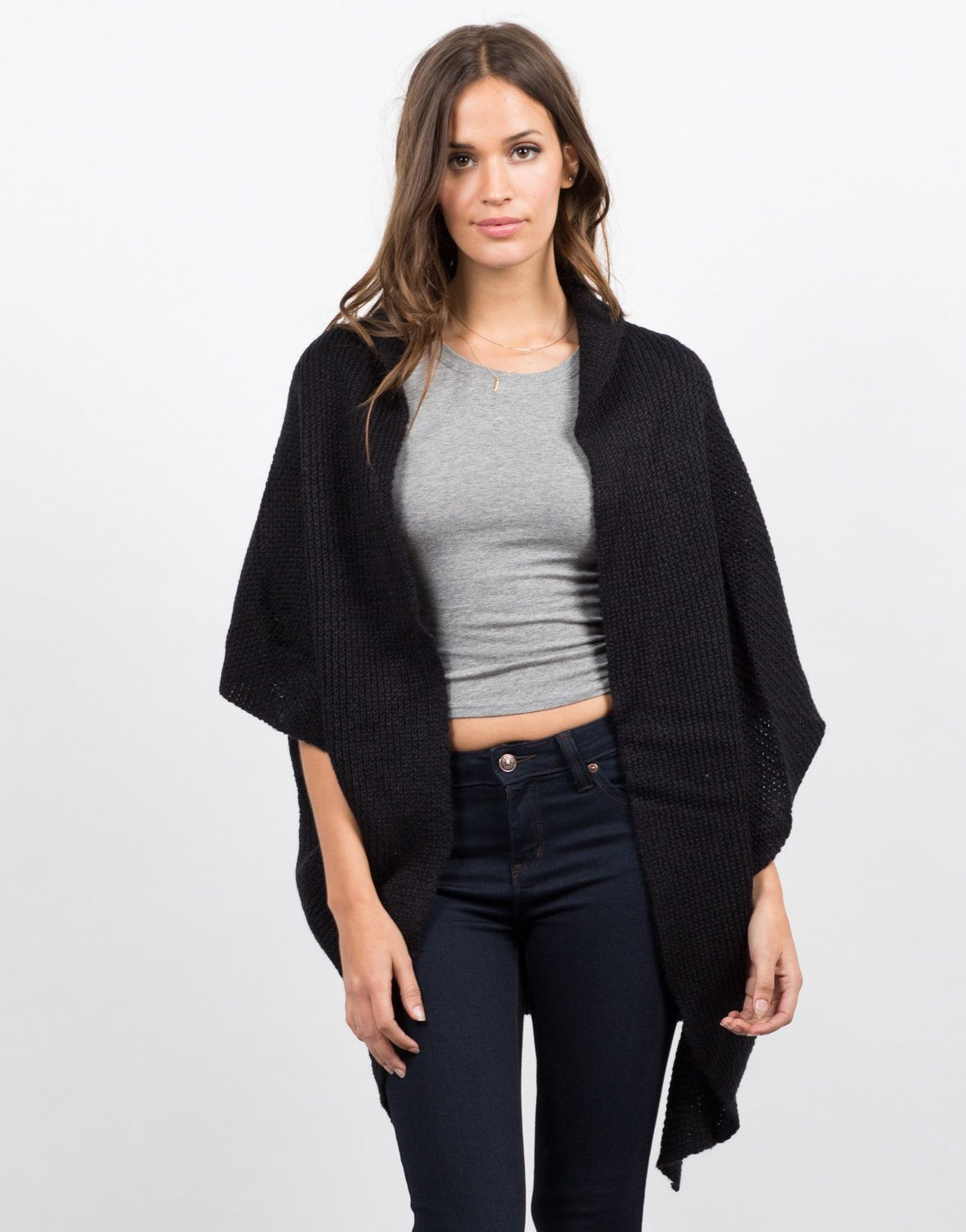 Knitted Short Sleeve Cardigan | Shorts, Short sleeves and Sleeve