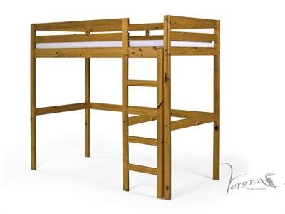 Verona Design Ltd Rimini High Bed 3 Single Antique Frame Only High