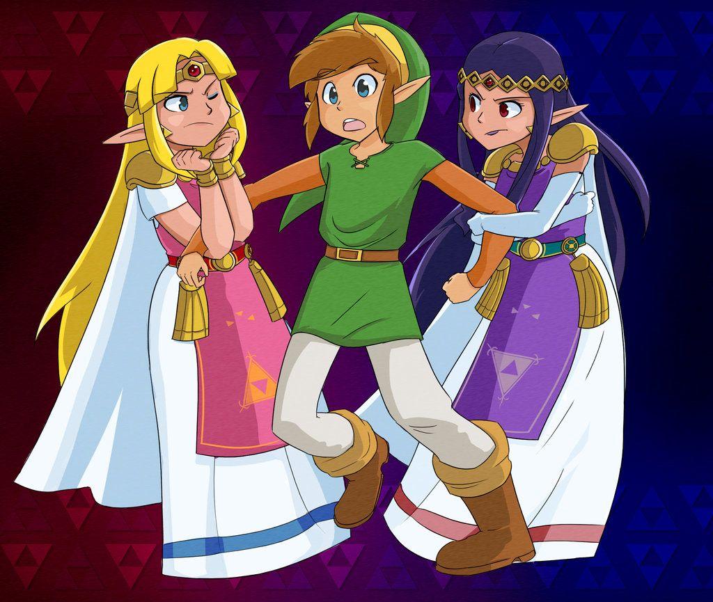 A Link Between Princesses By Metalbreakdown Deviantart Com On