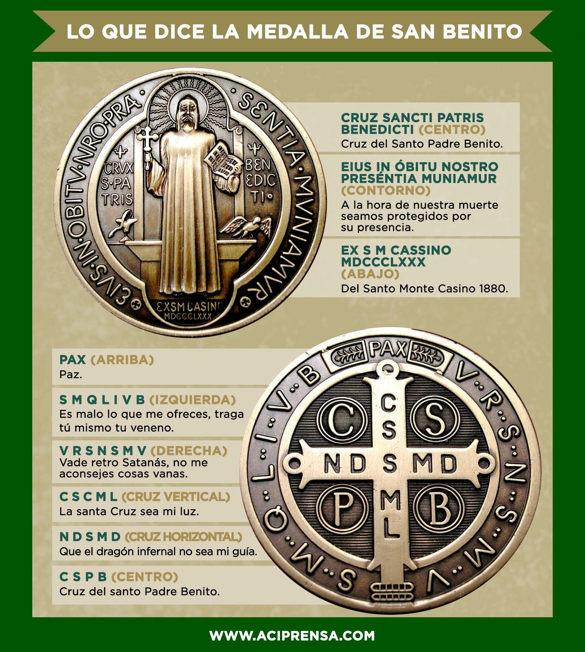 Aci Prensa Calendario.El Significado De La Medalla De San Benito Aci Prensa Fe