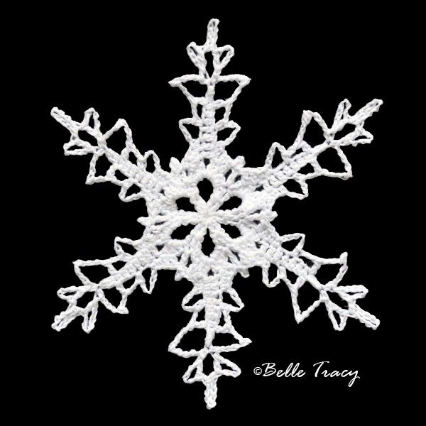 365 Crochet Snowflakes By Belle Tracy | Christmas | Pinterest ...