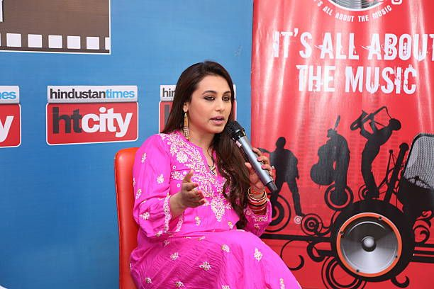 Photo of Bollywood actress Rani Mukerji poses for profile shoot durin…