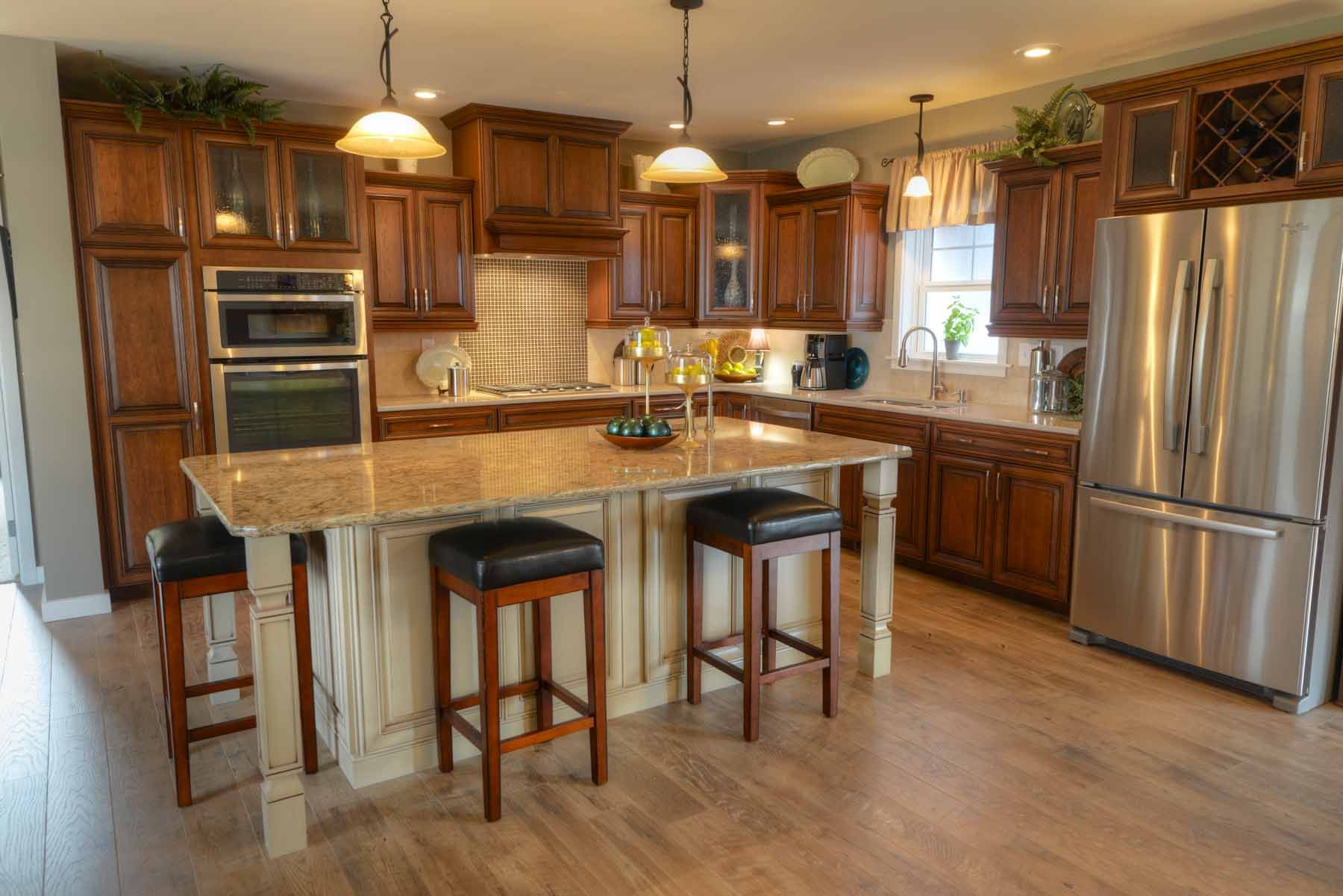 Kitchens Legacy Crafted Cabinets Kitchen Modular Log Home Kitchens Home Kitchens