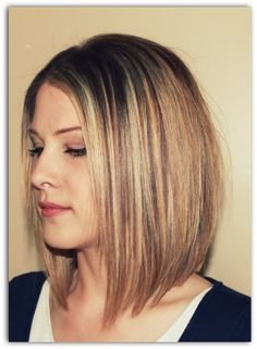 Haircut On Pinterest A Line Haircut Haircuts And Shoulder Length A Line Haircut Longer A Line Haircut Wavy Bob Hairstyles