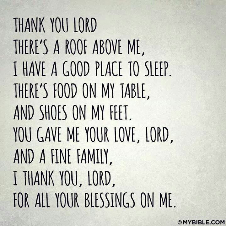 Thank You Lord For My Son Quotes: Thank You Lord For All Your Blessings On Me.!