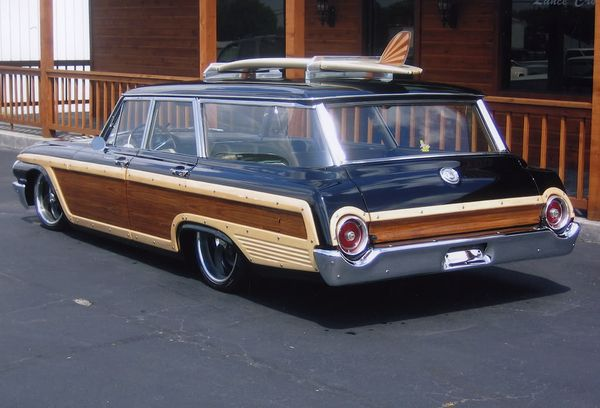 Ford Galaxie Station Wagon Wagon