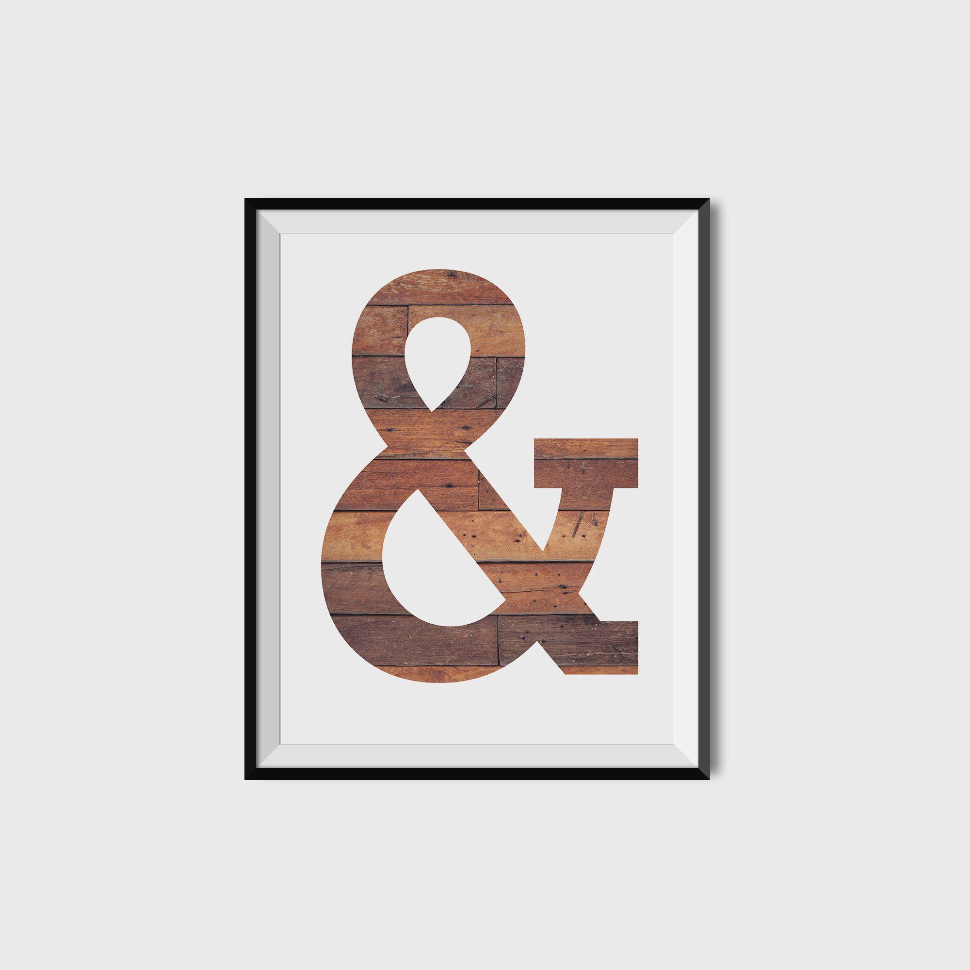 Avalisa letter upper case t stretched wall art - Alphabet Print It Custom Printed Minimalist Wall Art Print Scandinavian Art