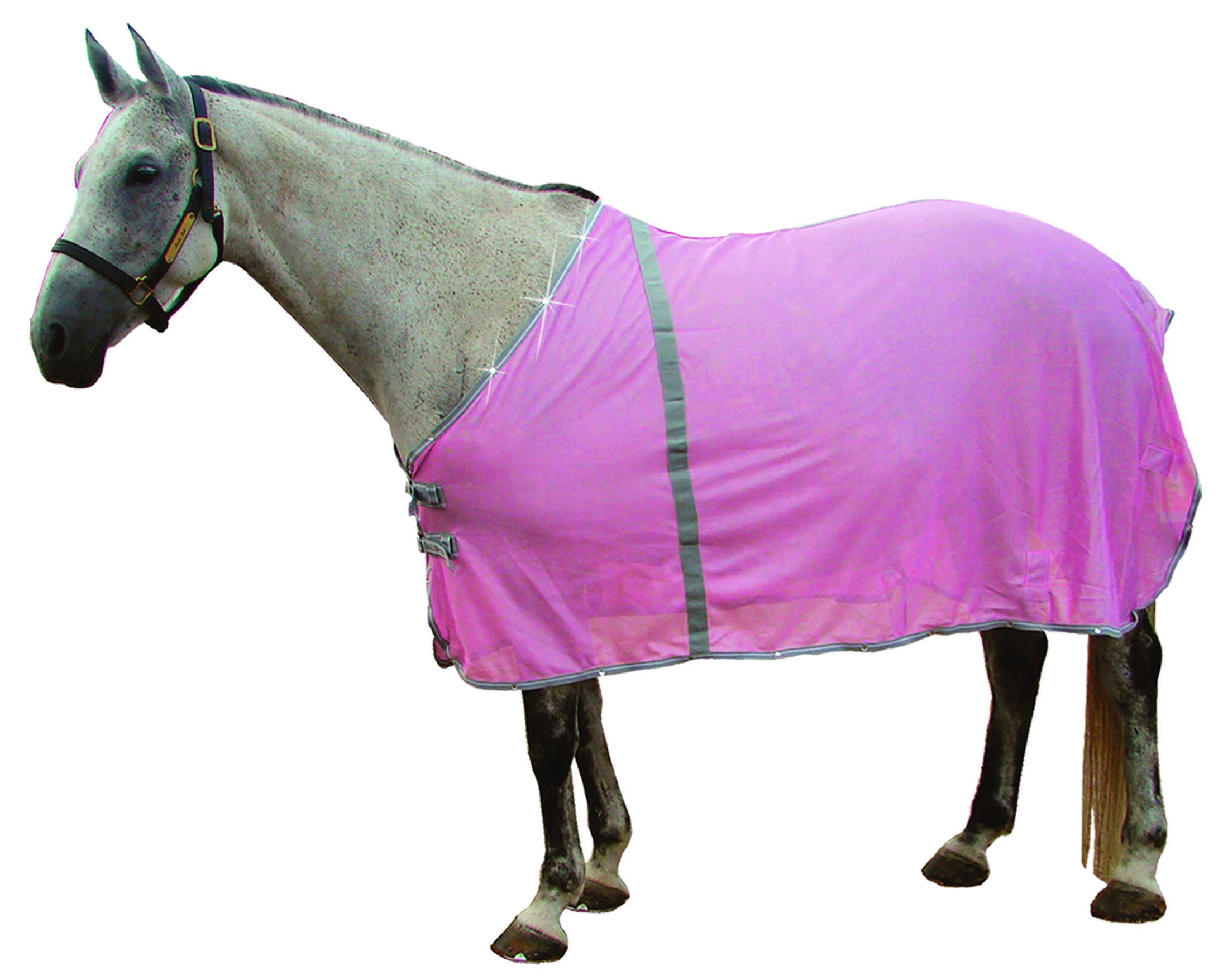 Royal Hamilton™ Pink  Diamond Fly Sheet - Clearance Item