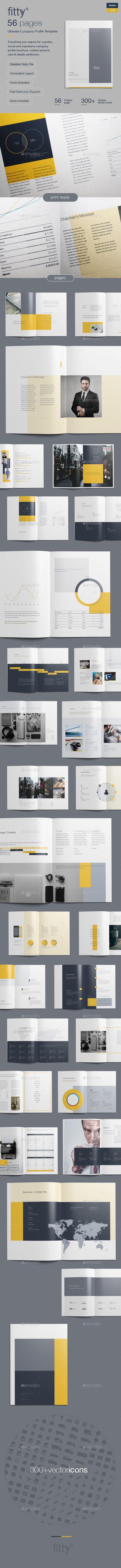 Company Profile Template Company Profile Brochures And Template - Company profile brochure template