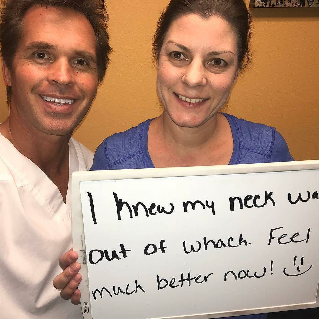 Chiropractic check up from the neck up