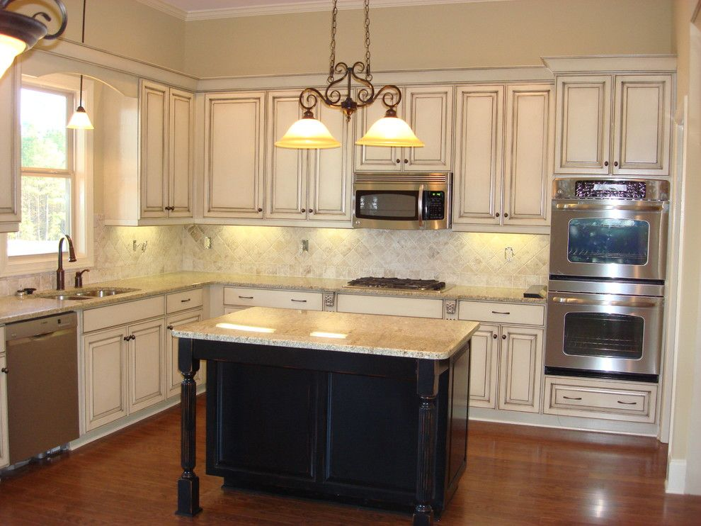 Distressed White Kitchen Cabinets Traditional With Backsplash Unique Distressed Kitchen Cabinets Decorating Inspiration