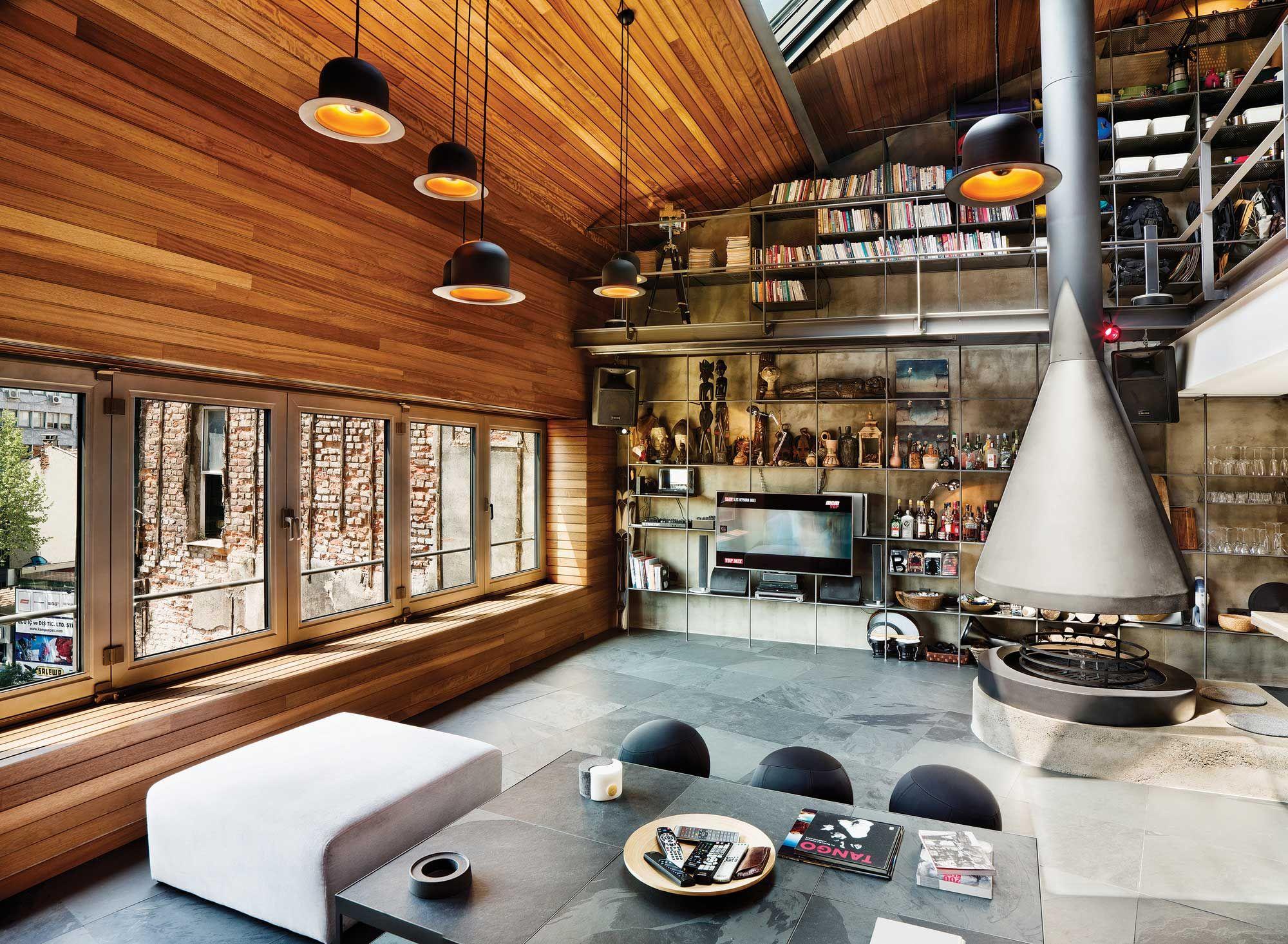 Amazing Turkish Loft in Karakoy [Istanbul] | Dachs, Sofa und Bett