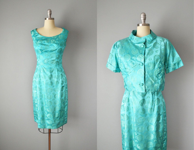 Verkauf / / Vintage 60er Jahre Kleid und von OffBroadwayVintage ...