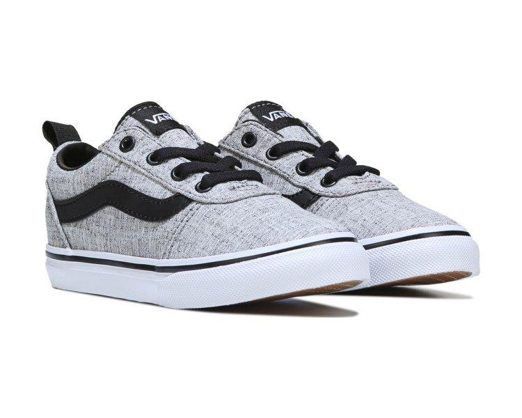 648eb3fdffe Vans Ward Low Sneaker Toddler Grey