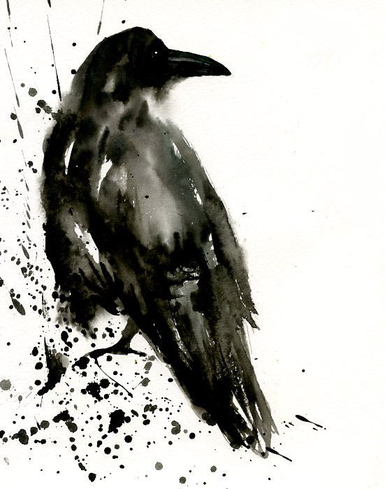 Image result for paintings and illustrations crows among freshly harrowed furrows