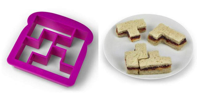 geeky kitchen gadgets island with seating you need to own stuff that is awesome tetris sandwich cutter