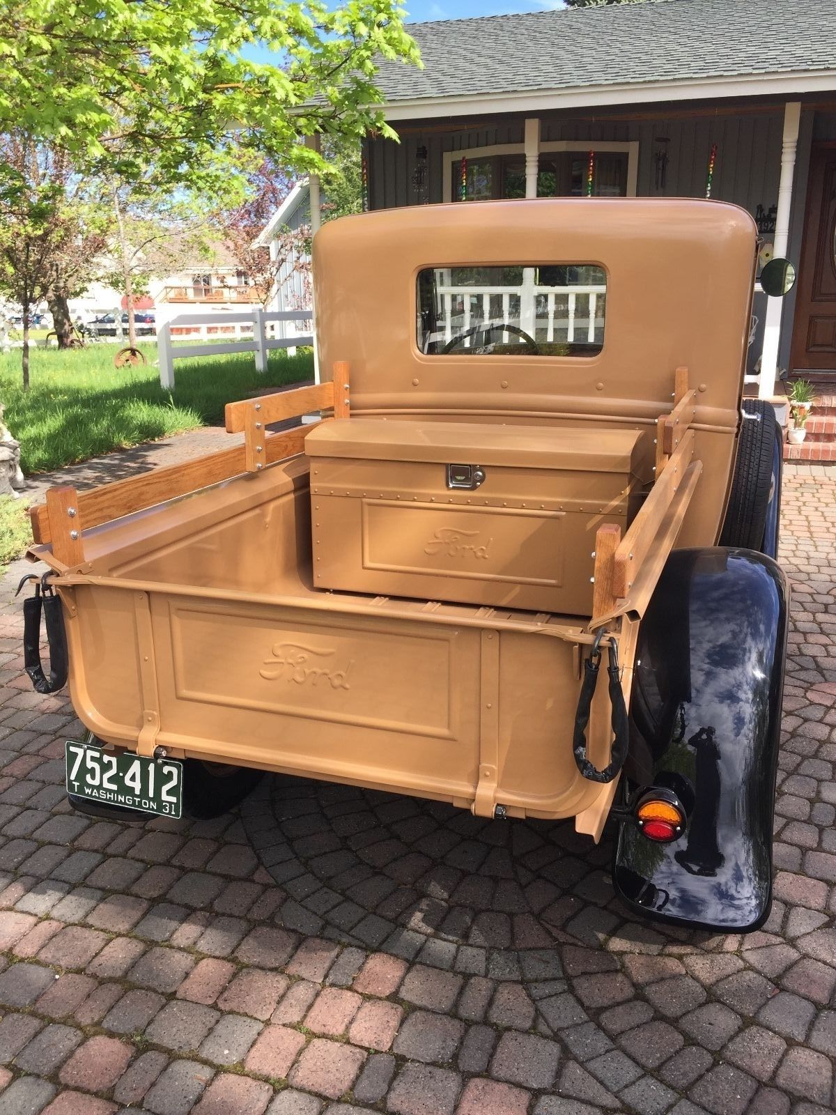 1931 Model A Ford Pickup Budd Cab Ford Pickup Ford Pickup Trucks Old Pickup Trucks
