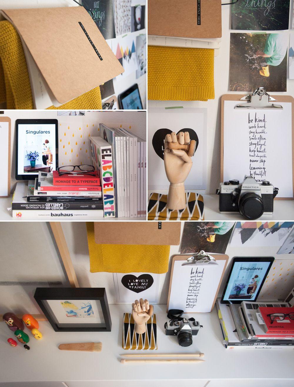 Moodboard de Natalia de Blanco Roto para Hello! Blogging #hellocreatividad