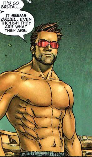 X-Beefcake! - Page 7 | Comic illustration, Comic books art ... X Men Girl Power Form