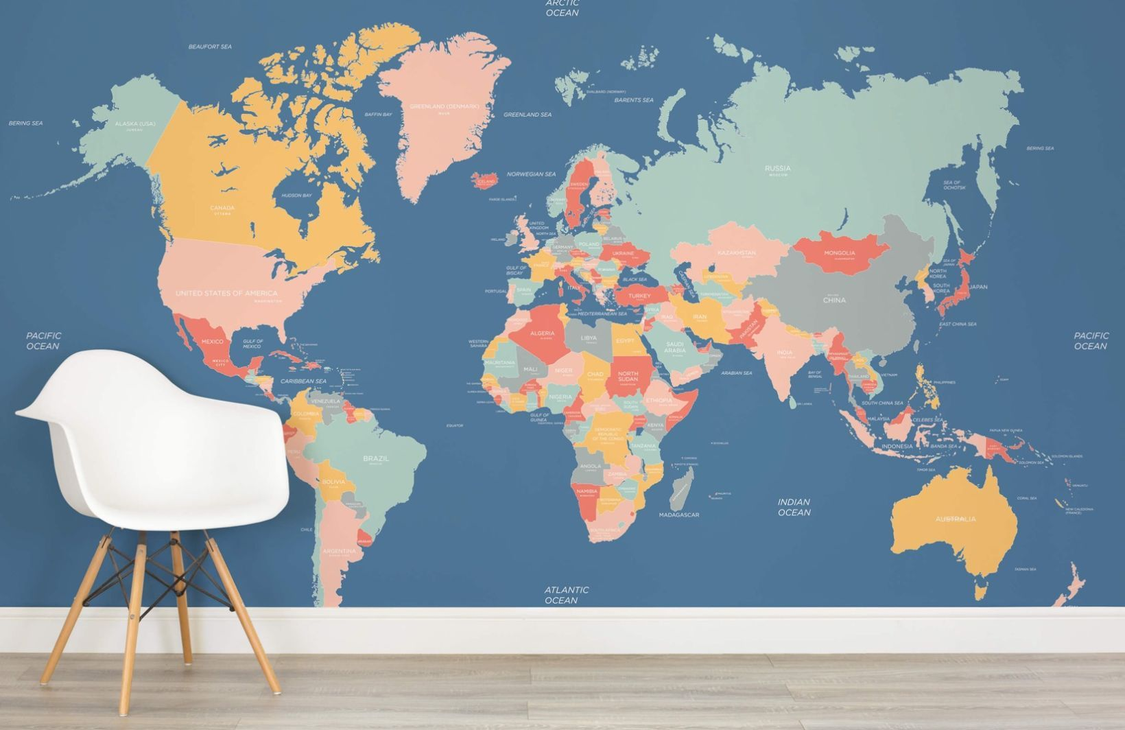 Navigator world map mural muralswallpaper room design navigator world map mural muralswallpaper wallpaper muralswall gumiabroncs Choice Image