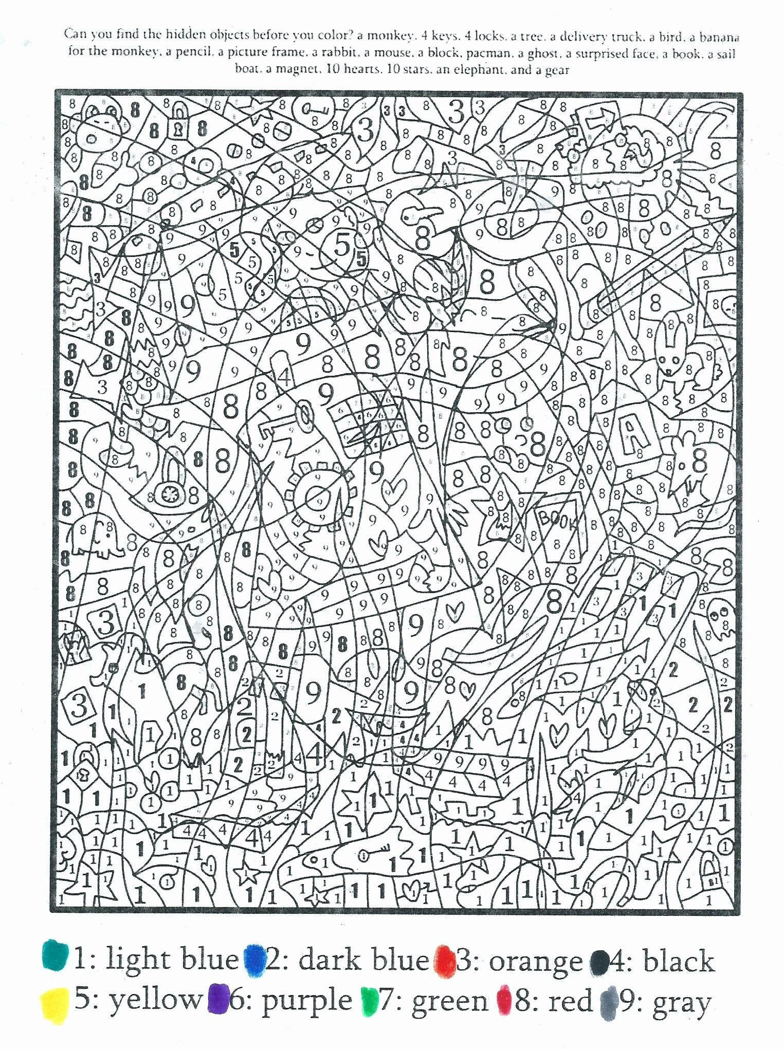 Pin On Popular Number Coloring Pages