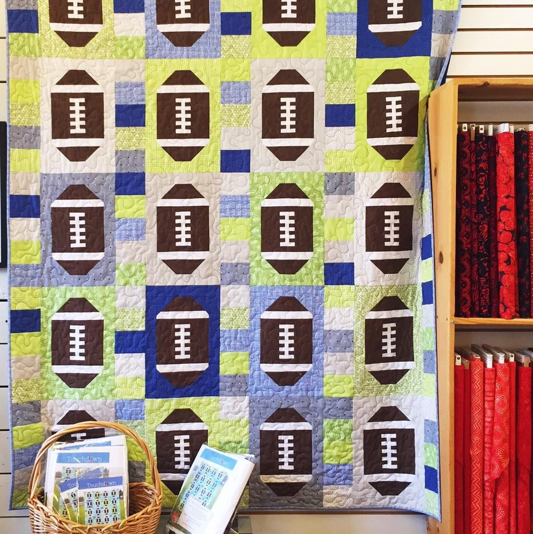 It must be football (Seahawks!) season! Spotted this cute ... : quilted strait port gamble - Adamdwight.com