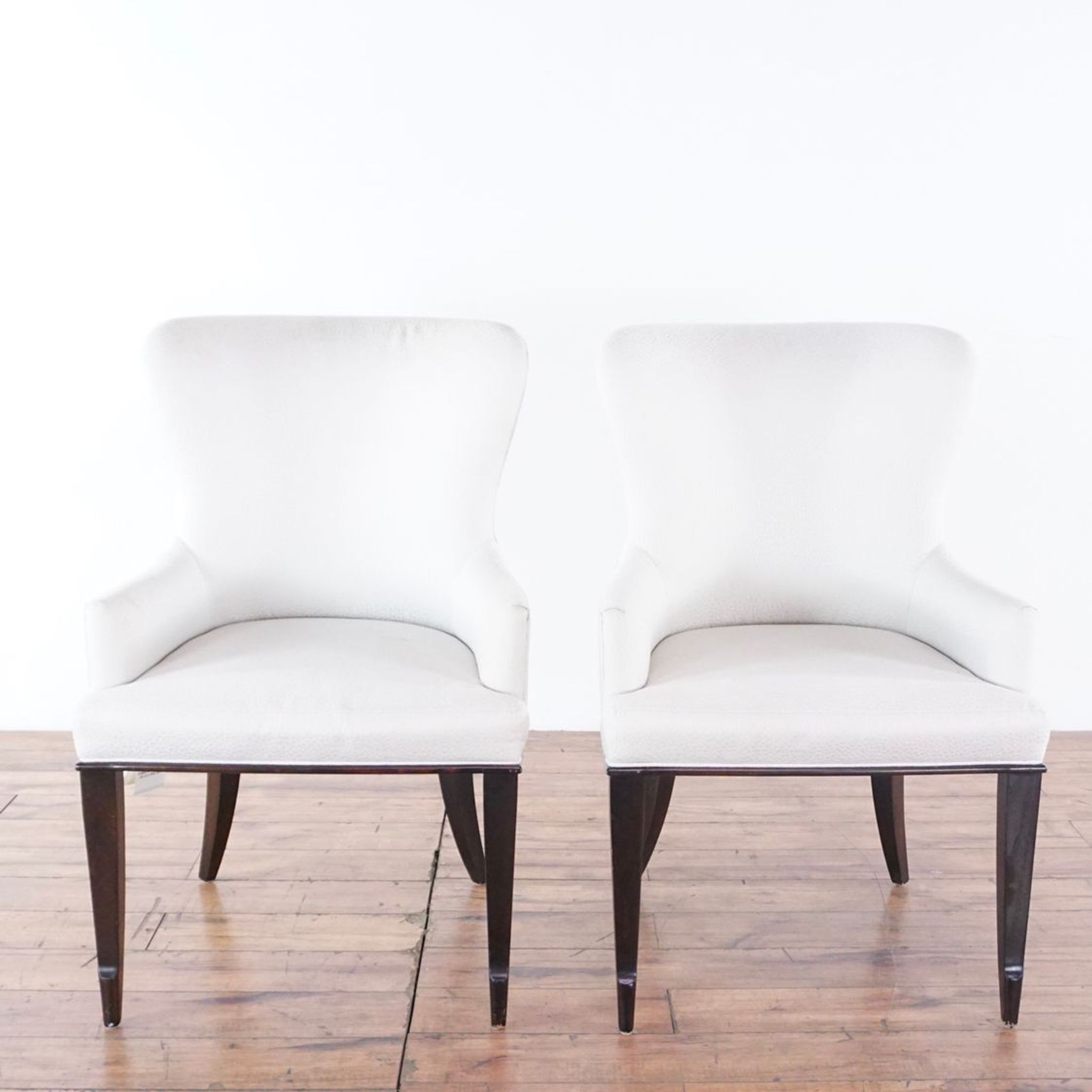 Pair Of Henredon Accent Chairs Chair Accent Chairs Dining Chairs