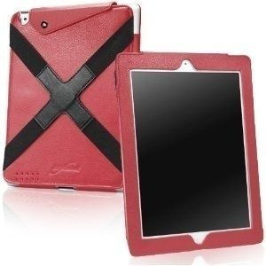 BoxWave Active Field iPad (3rd Generation) Case, Synthetic iPad3 Leather Case w/ Elastic Hand Strap for The new iPad - Apple iPad 3 Covers and Apple iPad 3 Cases (Ardent Red) I like this red one for $24