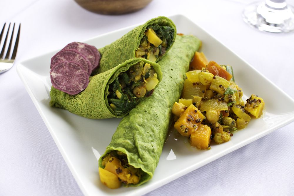 Spinach Crepes The Ornish Spectrum Healthy food