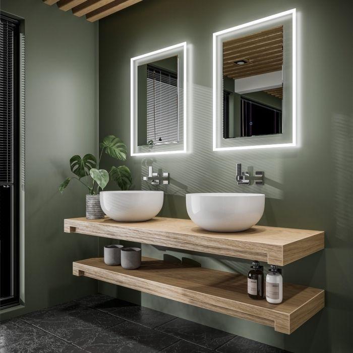 Salle de bains : 10 façons d'adopter la vasque suspendue