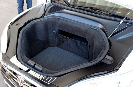 tesla model s front cargo space cars i love pinterest cars and model. Black Bedroom Furniture Sets. Home Design Ideas