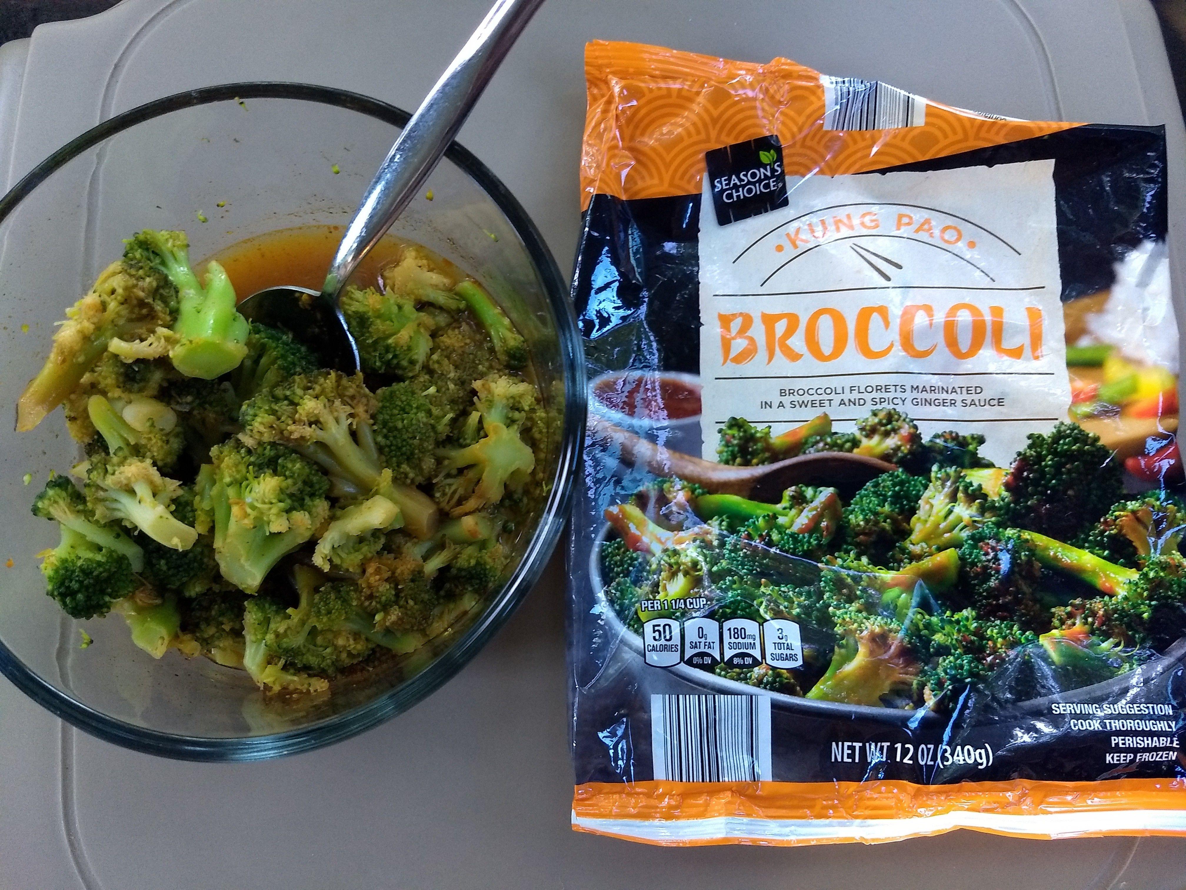 Season S Choice Kung Pao Broccoli Spicy Recipes Special Recipes