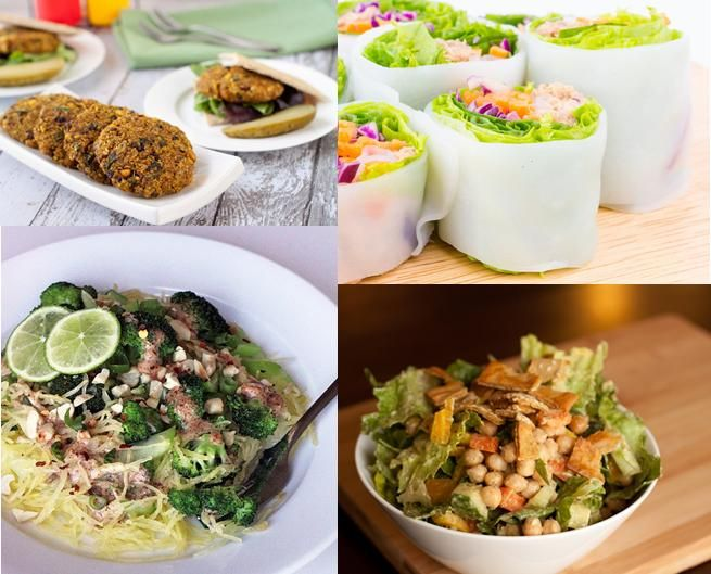 Awesome vegan recipes - don't need to be vegan to enjoy ~! http://www.popsugar.com.au/fitness/Healthy-Vegan-Lunch-Recipes-33902049#photo-33902045