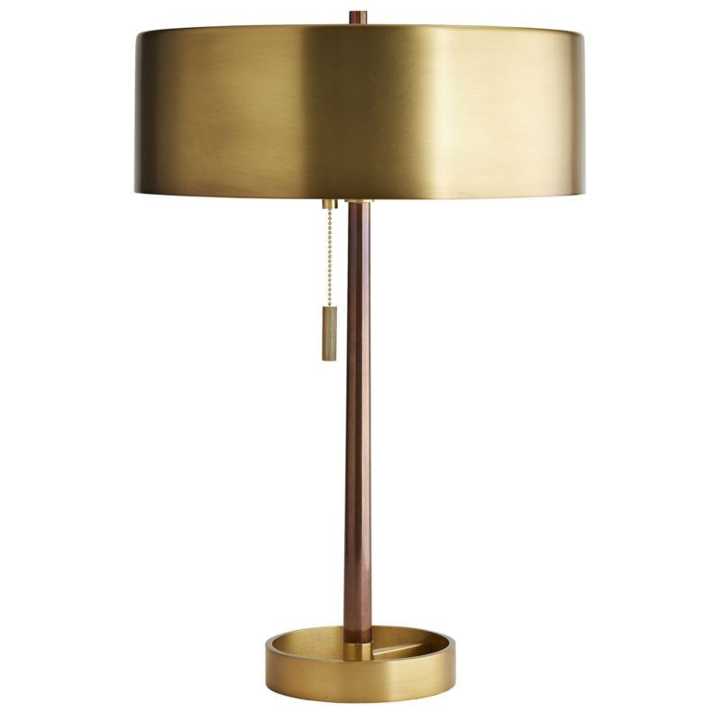 Antique Brass Table Lamp Modern Antique Brass Plated Table Lamp Lampade