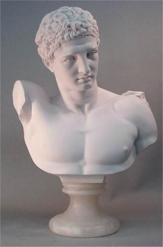 Hermes Bust Large Marble Statue Statue Marble Statues Statue Tattoo