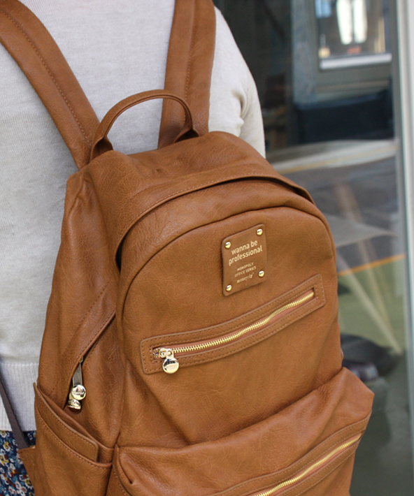 Monopoly Leather Backpack | A well, Offices and Leather backpacks
