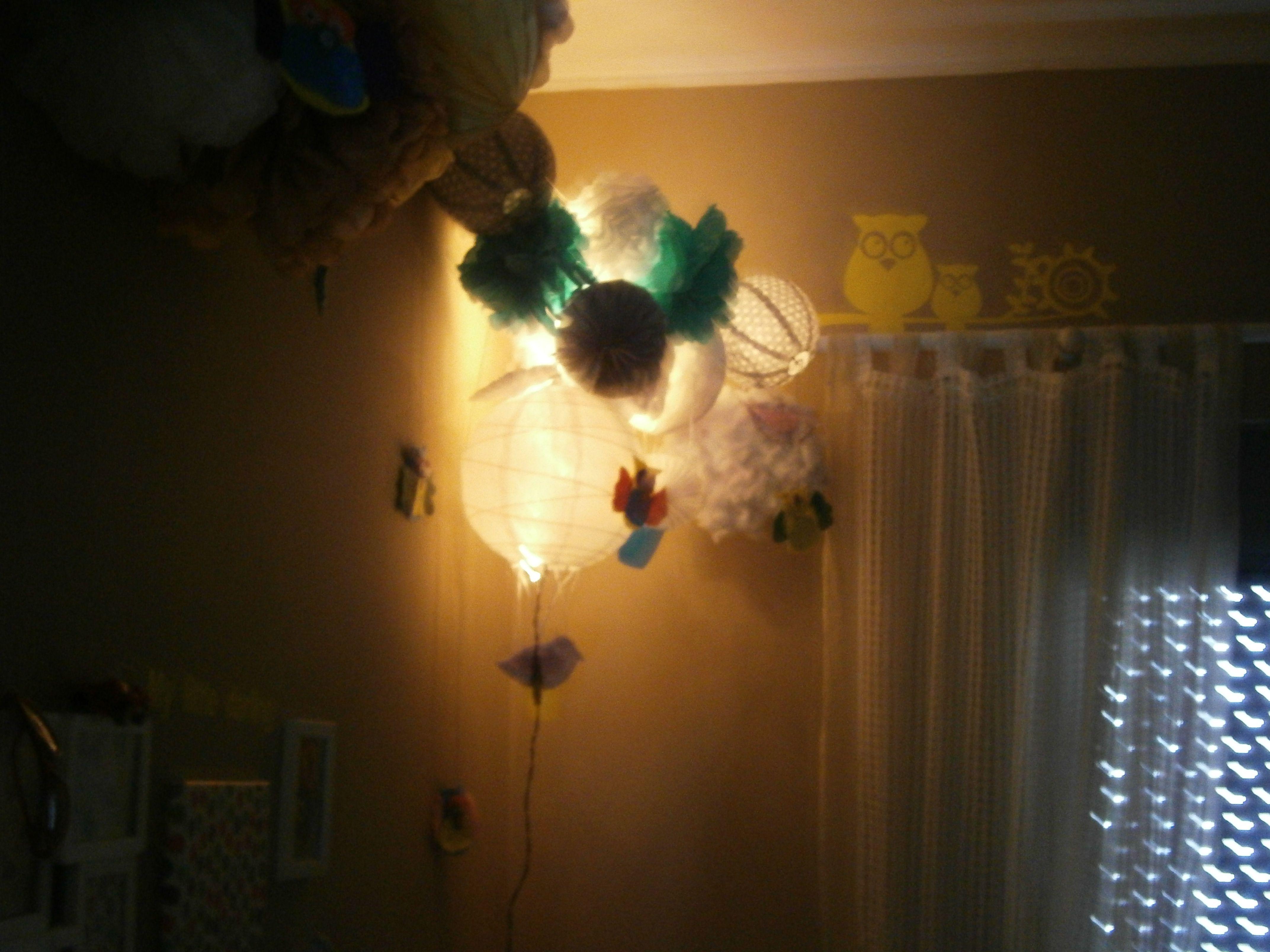 Πομ Πομ με κρυφό φωτισμό!!!Παιδικό Δωμάτιο!!