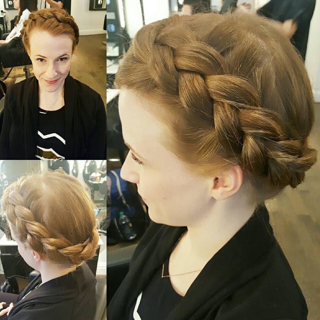 Crown Braid By Me Dreamdry Hairart Hairoftheday Kerastase