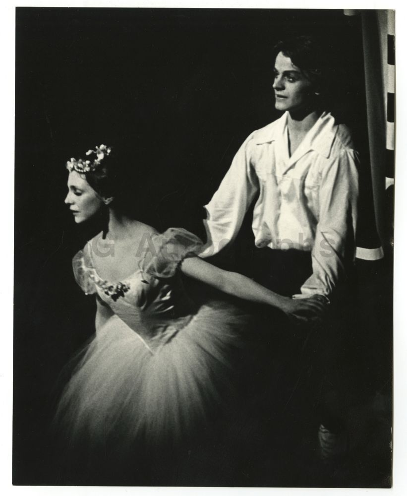 Mikhail Baryshnikov & Gelsey Kirkland in 'La Sylphide'  Vintage
