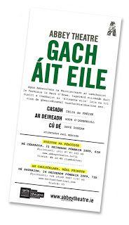 Gach - Every / áit - place / eile - other