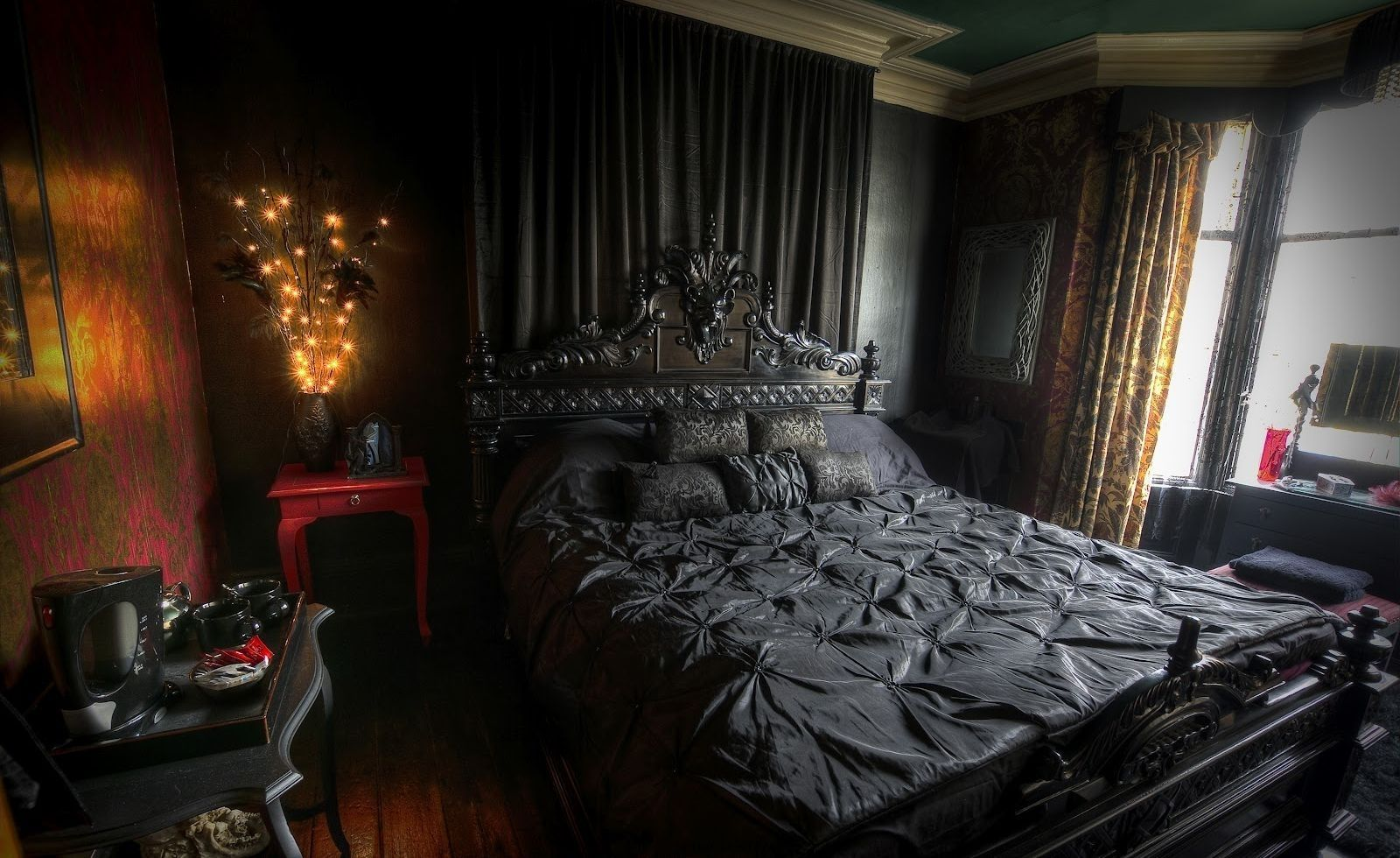 Dark Victorian Bedroom dark victorian interior design - google search | interior