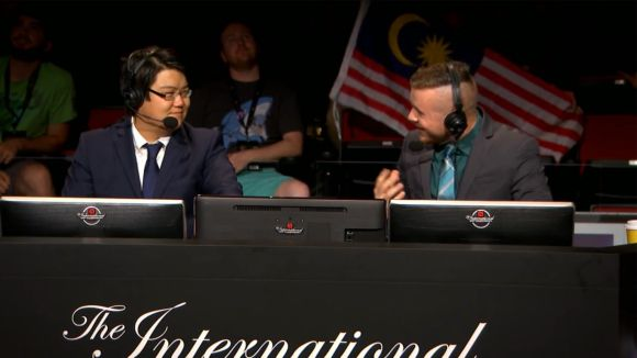 The DOTA 2 international 2015 YouTube live stream is underway and about to happen is the Upper Bracket 1C Game One of Three, which is set for just over 5 minutes time.