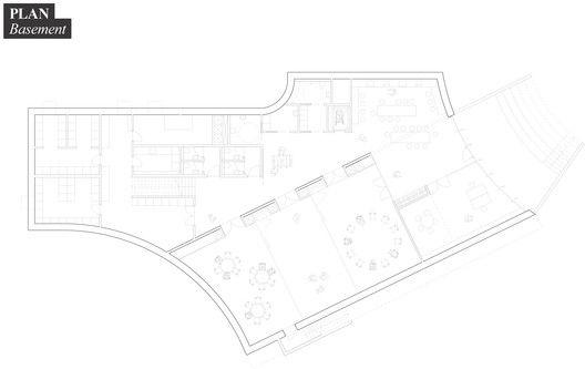 NORD Architects' Brønshøj Parish Centre Fosters Community Gathering,Floor Plan - Basement