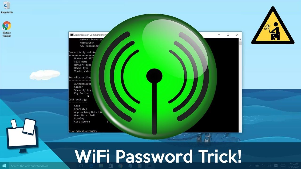 How to Find Any WiFi Password (really easy) YouTube